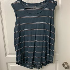 Madewell Striped Tank Top